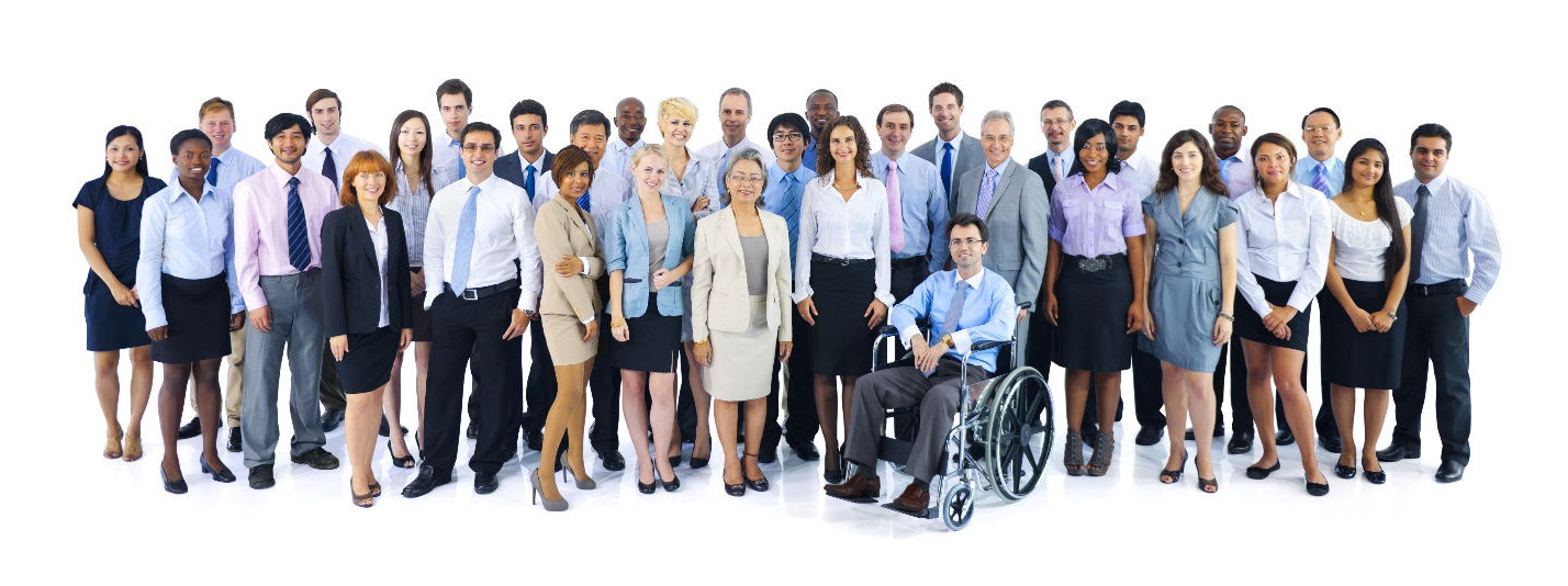 Empowering Abilities: Services and Jobs for People with Disabilities - A group of individuals with mixed abilities.