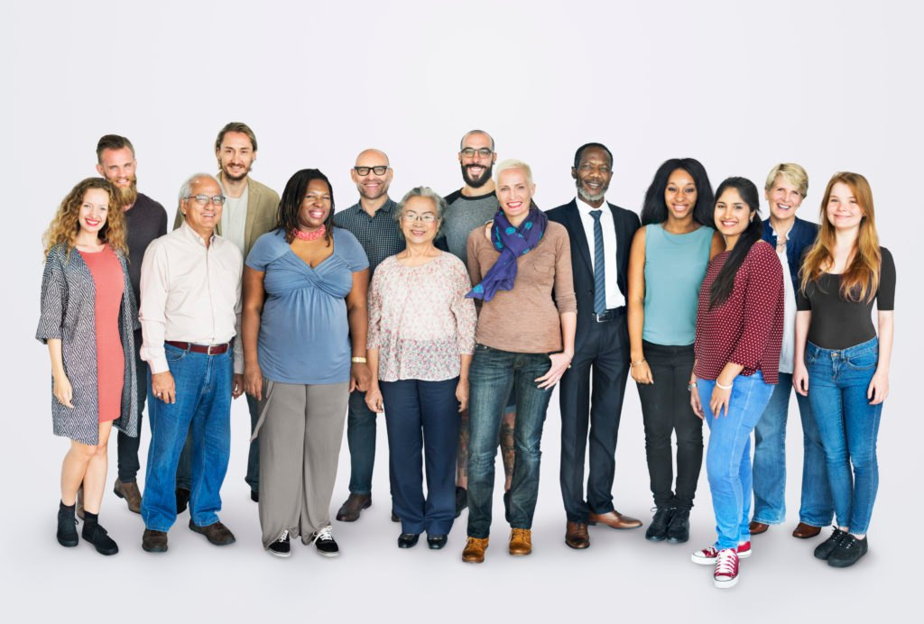 Second Career: A group of individuals of mixed cultures and ages — all of which could qualify for new skills training!